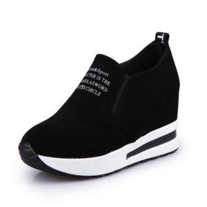 Dámské moderní podzimní boty na platformě