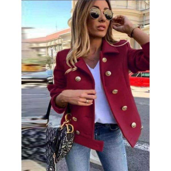 Dámský elegantní kabát Paris