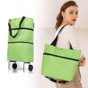 Skládací nákupní vozík a taška Folding