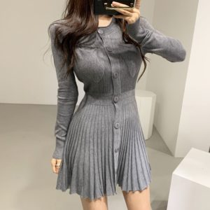 Dámské podzimní elegantní šaty Kamila
