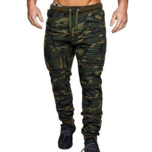 Pánské stylové camo kalhoty Benjamin