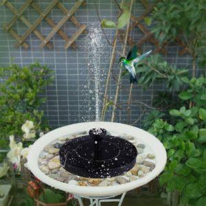 Solární fontána na zahradu