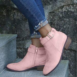 Dámské módní kotníčkové boty Adriana