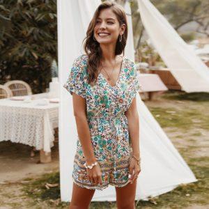 Dámské letní květinové šaty Olivia