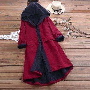 Dámský elegantní kabát Ariya