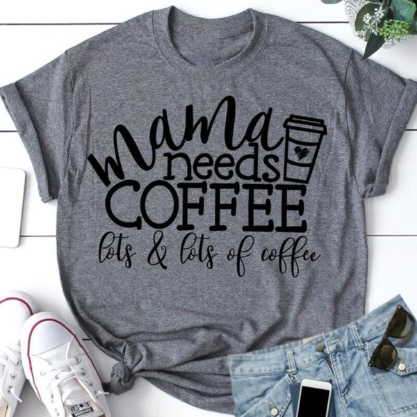 Dámské stylové tričko Coffee