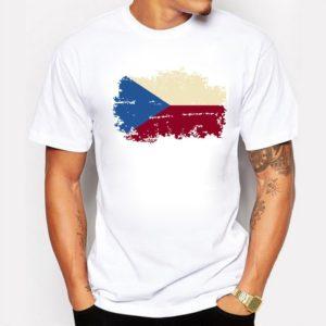 Pánské stylové triko Flags