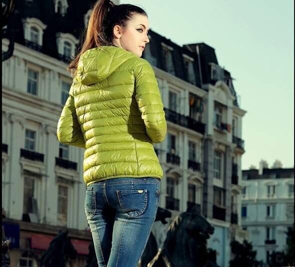 Dámská luxusní podzimní bunda Violet