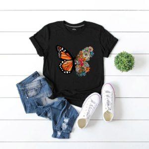 Dámské moderní triko Butterfly