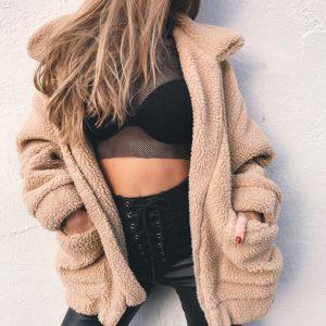 Dámská luxusní zateplená podzimní bunda Safa