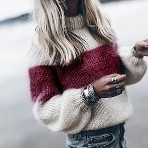 Dámský stylový podzimní svetr Libbie