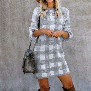 Dámské luxusní teplé šaty Nathalia - kolekce 2020