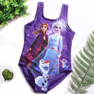 Dívčí jednodílné plavky Elsa