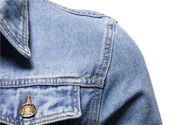 Pánská stylová podzimní denim bunda Frost