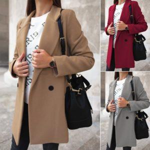 Dámský elegantní kabát Clare