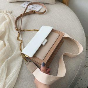 Dámská elegantní kabelka s módním sportovním popruhem Cerise