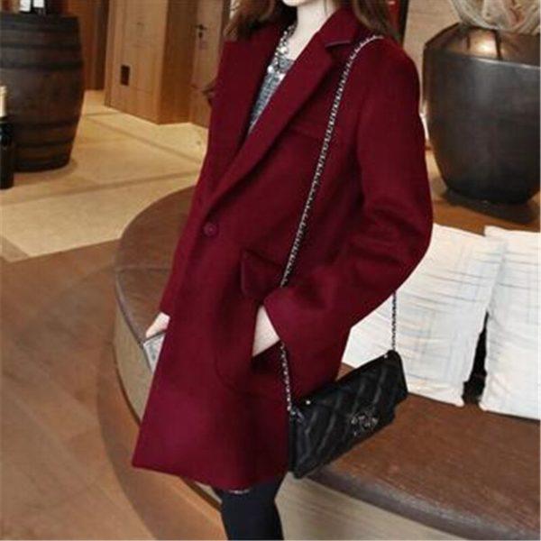 Dámský luxusní kabát Elicia