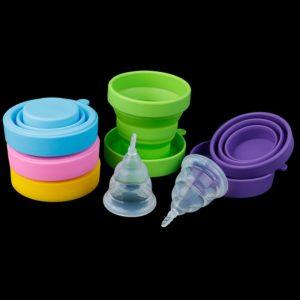 Dámský menstruční kalíšek se sterilizátorem Sally