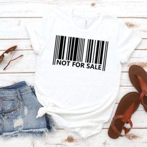 Dámské luxusní triko Not for sale