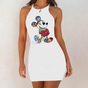 Dámské luxusní šaty Cartoon Mouse
