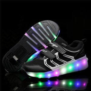 Dětské LED svítící boty s kolečky unisex