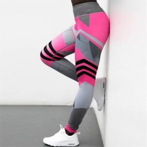 Dámské stylové fitness legíny Rockette