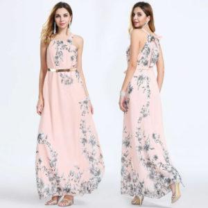 Dámské dlouhé letní šaty Nora