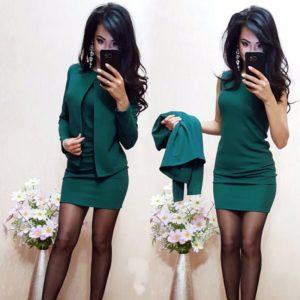 Dámský elegantní kostýmek Eliana | šaty, sako