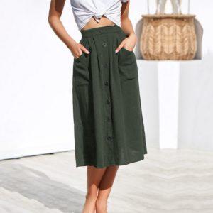 Dámská volnočasová letní sukně Kaycee