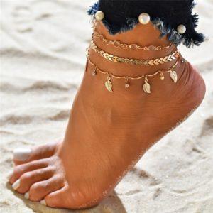 Stylový náramek na nohu Bohemia