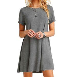Dámské pohodlné krátké šaty Terry