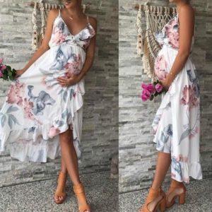 Dámské těhotenské letní šaty Leticia