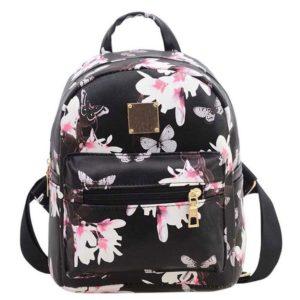 Dámský batoh Terris s květinovým vzorem
