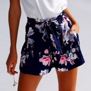 Dámské elegantní šortky s květinovým vzorem Heidy Glass