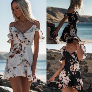 Dámské květinové šaty Tiana