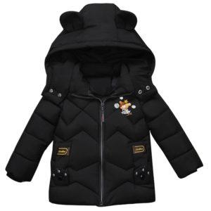 Zimní dětská zateplená bunda Cartoon