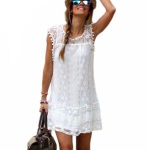 Dámské letní sexy krajkové šaty Terrence