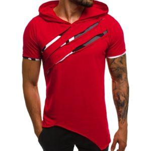 Pánské módní tričko s kapucí Niko