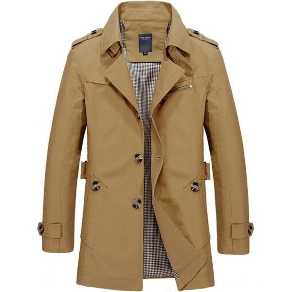 Pánský elegantní podzimní kabát Griffin
