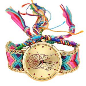 Dámské pletené hodinky s lapačem snů