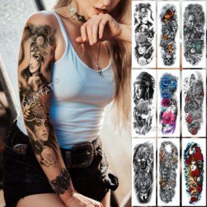 Vélký tetovací voděodolný rukáv Midnight