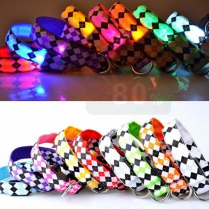 LED obojek pro psy Mia