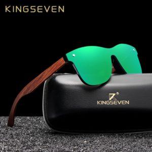 Unisex stylové polarizační brýle Kingseven