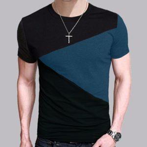 Pánské bavlněné tričko s krátkým rukávem Finn