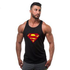 Pánské stylové fitness tílko Superman
