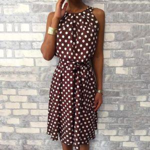 Dámské stylové šaty bez rukávů Hope