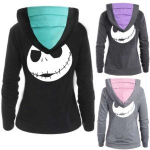 Dámská stylová mikina Skull