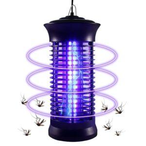 Přenosná LED lampa na komáry