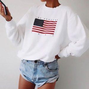 Dámská stylová mikina USA
