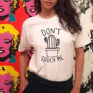 Dámské tričko s kaktusem Emilie